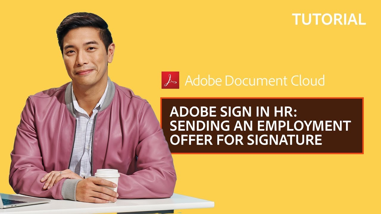 how to add signature in adobe