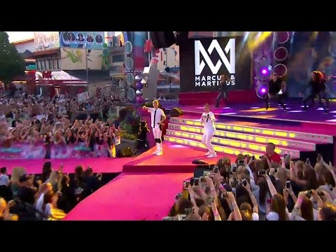 Marcus & Martinus – Girls- Sommarkrysset (TV4)