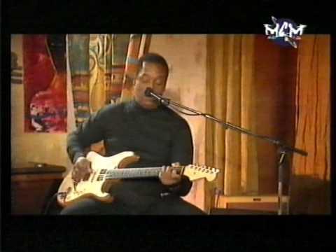 Hiram Bullock Little Wing Live on french TV
