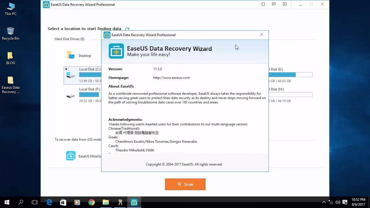 activate easeus data recovery wizard free for lifetime 2017