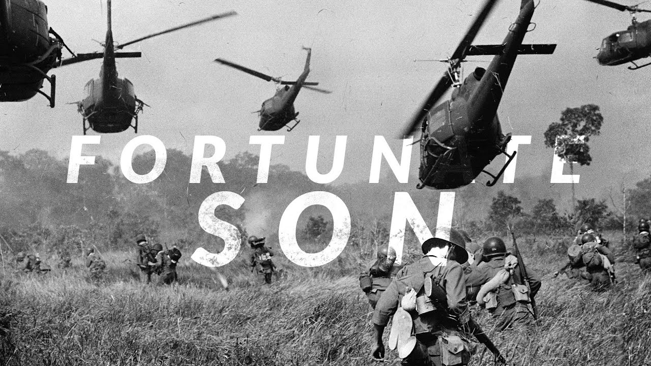 Fortunate Son - CCR (added UH-1 Huey Effect)