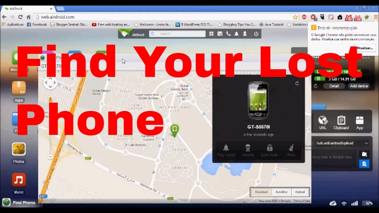Phone How To Track My Android Phone From Computer how to find your lost android phone easilytracephone youtube computer repair