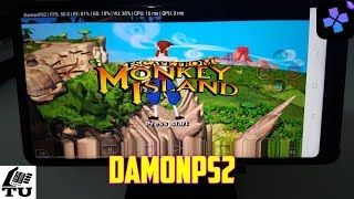 Escape from Monkey Island DamonPS2 Pro PS2 Games on smartphones/Android/Gameplay