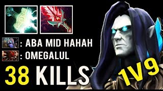 NEW STYLE 1v9 Mid Abaddon 38 Kills Most Crazy Annoying Curse Gameplay Top 8K Bulgaria Dota 2