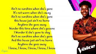 Download Lagu CammWess Ain t No Sunshine - MP3