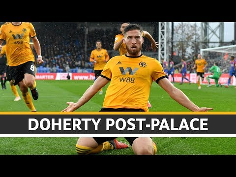 Doherty on scoring the winner at Crystal Palace