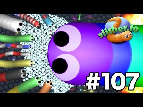 *NEW* ULTRA ZOOM MOD - THIS IS AMAZING!! - Slither.io Gameplay Part 107