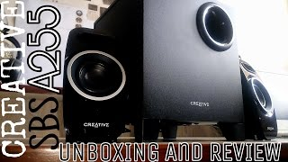 Creative SBS A255 Speakers Unboxing and Review || With Audio Sample || Startup Youtuber Kit #3