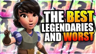 RANKING ALL 15 LEGENDARIES In CLASH ROYALE! THE WORST AND BEST LEGENDARIES YOU SHOULD USE!