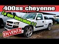 PICKUP CHEYENNE 400 ss LISTA PARA EL 1/4 DE MILLA ?????? chevrolet silverado camionetas en venta