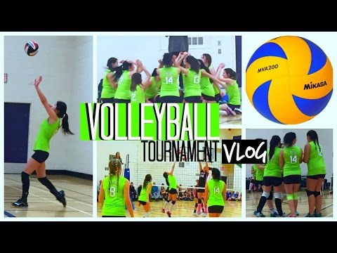Volleyball Tournament Vlog! {Tutti Fruitti, Volleyball, Shopping, Road Trip}