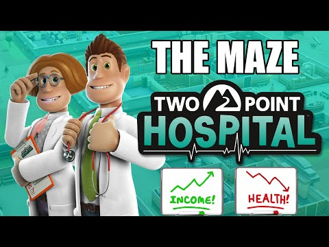 Two Point Hospital | Making A Maze |