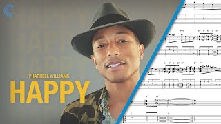 Tenor Sax - Happy - Pharrell - Sheet Music, Chords, & Vocals
