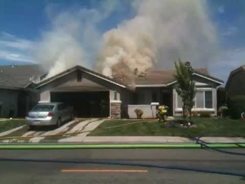 Residential structure fire 10001 winged foot drive for Residential pictures