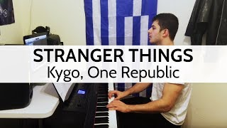 """Stranger Things"" - Kygo, One Republic (Piano Cover) by Niko Kotoulas"