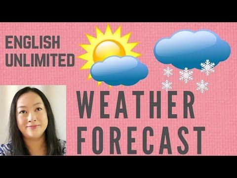 天气预报英文   weather forecast   生活英语   出国旅游英语