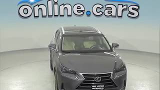 A97467GT Used 2016 Lexus NX 200t AWD Gray SUV Test Drive, Review, For Sale