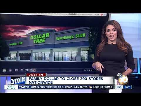 Family Dollar To Close Nearly 400 Stores Across US