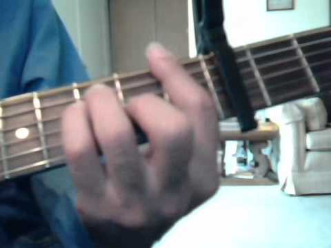 How To Play Goodbye My Lover On The Guitar Youtube