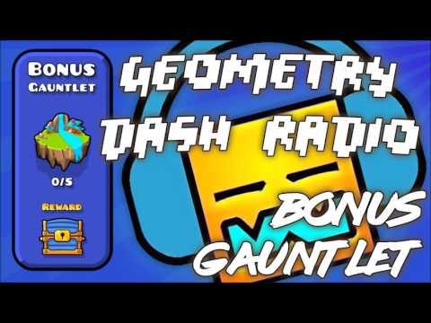 """Geometry Dash Gauntlet: """"Bonus Gauntlet"""" All Songs Complete [ Geometry Dash Music ]"""