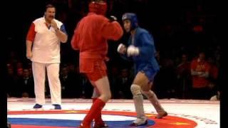 Боевое самбо. Галиев vs.  Леннинг