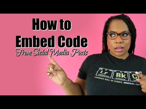 Embed Code HTML -  5 Social Media Posts You Didn't Know You Could Embed