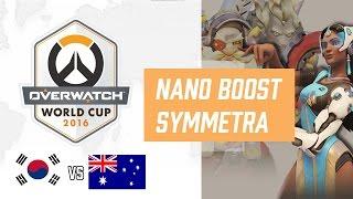 Junkrat, Torbjorn + Nano Boosted Symmetra Crazy Korean Strat | Overwatch World Cup 2016