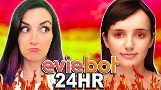 24 HOUR Eviebot Controls My Life Challenge thumbnail