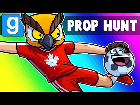Gmod Prop Hunt Funny Moments - World Cup 2018!