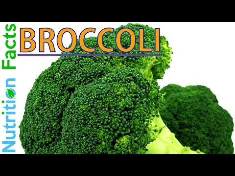 BROCCOLI NUTRITION FACTS, Info & Data - Nutritional Information For Raw Broccoli & Its Florets Value