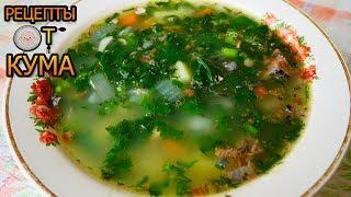 Летний суп из сайры (Summer soup with saury)