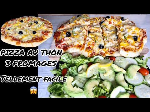 pizza-au-thon-et-3-fromages/-originale-recette-pizza-italienne-revisitée/-#recetteramadan
