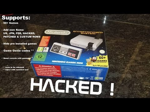 How to hack mini nes / add games to mini nes classic  / Reset funtion by controller!
