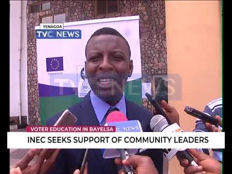 Bayelsa 2019: INEC seeks support of community leaders