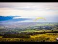 Paragliding from Haleakala Volcano - Maui 4K UHD