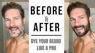 HOW TO DYE YOUR BEARD LIKE A PRO - Fix Patchy Color, Cover Gray Hairs with Just For Men
