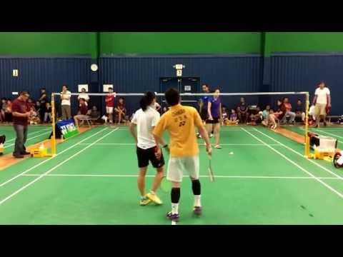 2016 Amegy Bank Houston Badminton Open XD Final