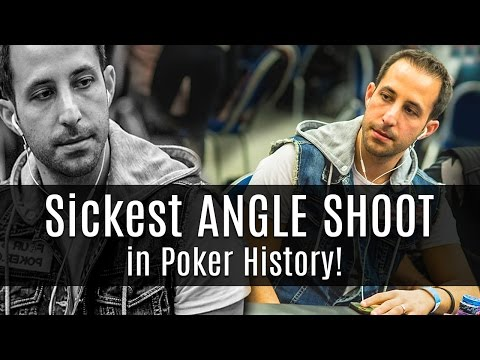 Poker Etiquette: Sickest Angle Shoot in Poker History!