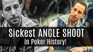 Poker Etiquette: Sickest Angle Shoot in Poker History!