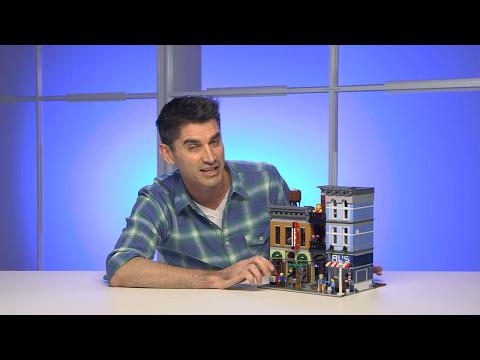 Detective's Office & Barber Shop - LEGO Creator - 10246 - Designer Video