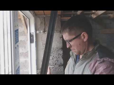 Своими руками поставить окно пластиковое окно