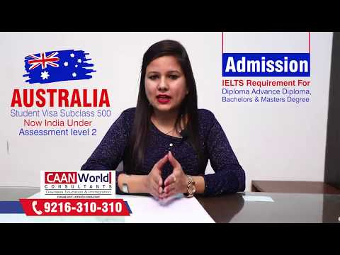 Australia Study Visa under New Rules