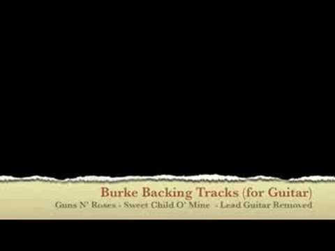 ***Guns N' Roses Sweet Child O' Mine Guitar Backing Track***