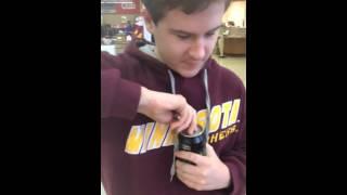 Kid reviews Mountain Dew Black Label!