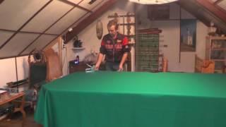 Как сделать Бильярдный стол своими руками часть 5(Натягиваем сукно на бильярдный стол По поводу приобретения видео по изготовлению бильярдных столов просьб..., 2016-12-16T07:53:30.000Z)