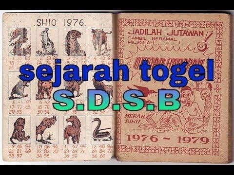 Togel SDSB | Sejarah Tombok Porkas Berhadiah