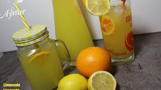 Selbstgemachte Limonaden Rezept#Ev yapimi limonata tarifi