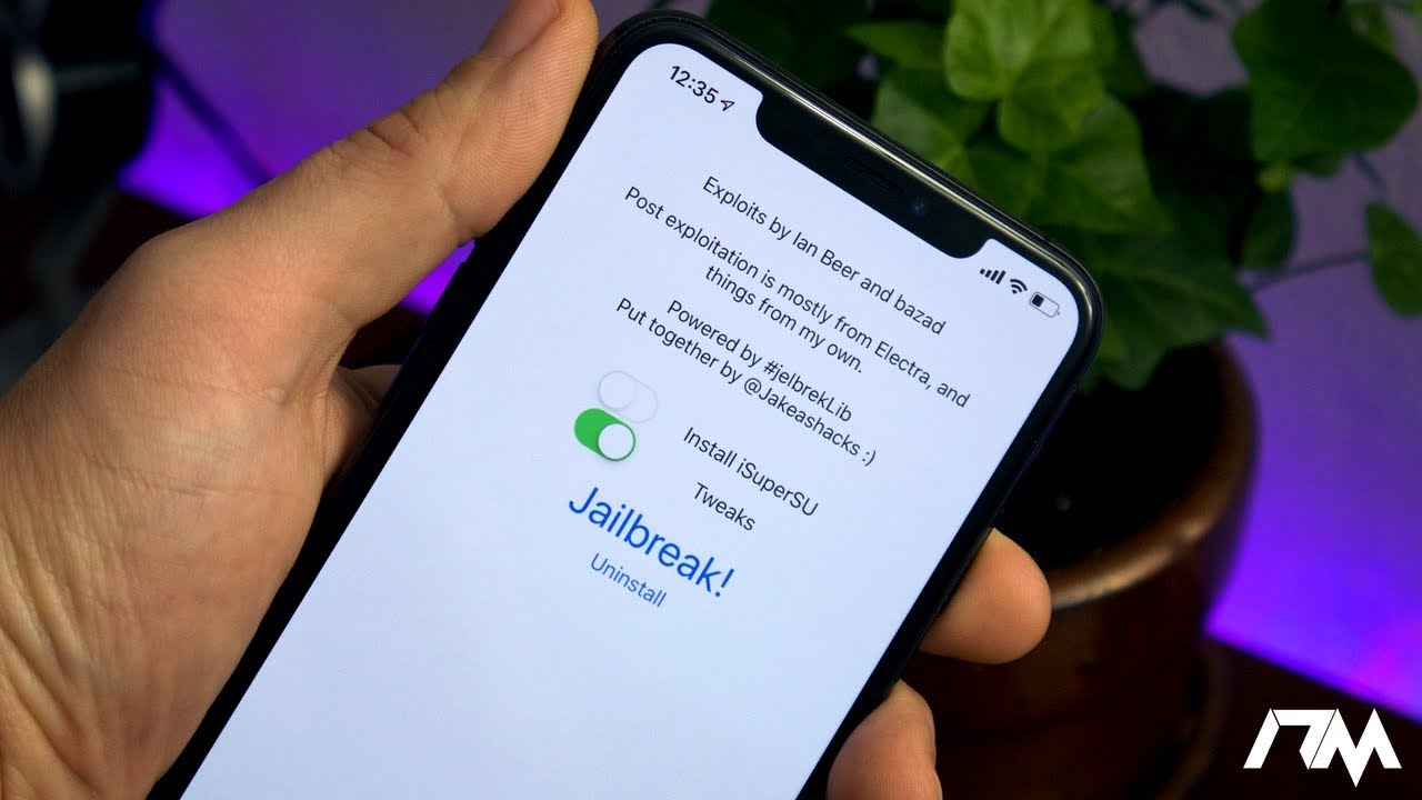 iOS 12 DEVELOPER JAILBREAK! rootlessJB 3 1 iOS 12 0 - 12 1 2 For A9-A11  Devices