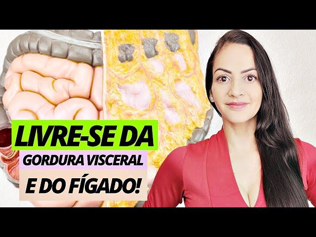 9 formas de eliminar GORDURA VISCERAL/NO FÍGADO!