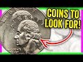 5 ERROR COINS TO LOOK FOR IN POCKET CHANGE WORTH MONEY!!
